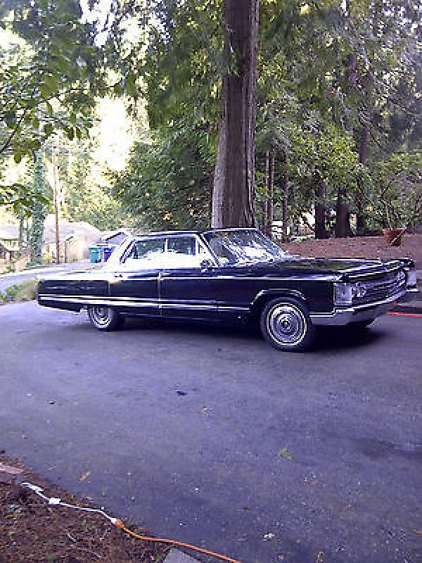 1967 Chrysler Imperial Lebaron 7 2l Cars Black Car Chrysler Imperial