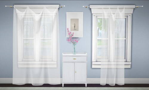 Sims 4 cc 39 s the best curtains by greengirl100 the - Sims 3 spielideen ...