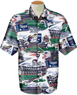 56ee43c3ffa New England Patriots Reyn Spooner Hawaiian Shirt | Men's Hawaiian ...