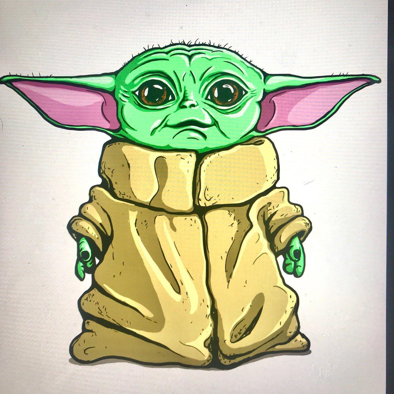 Baby yoda greatest baby yoda card star wars birthday