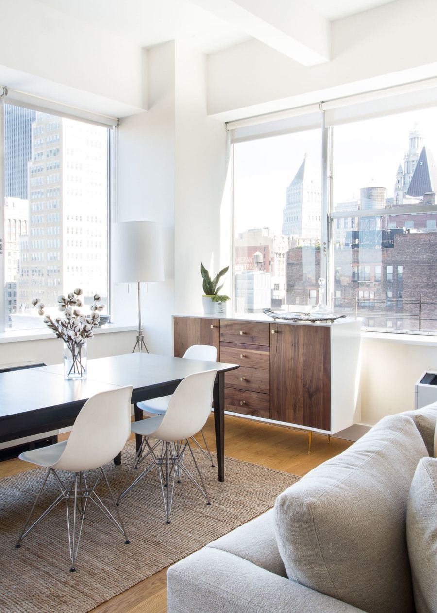 Designing A Chic Nyc Apartment With Room For Baby In Under 9 Months Apartment Decorating Livingroom Apartment Living Apartment Design