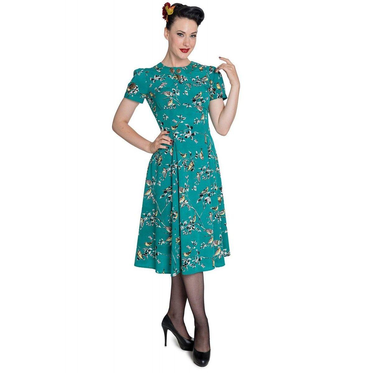 Hell Bunny Birdy Dress | Great garments | Pinterest | Bunny, Yellow ...