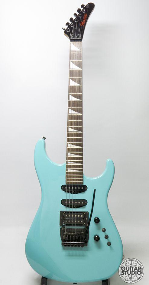 Moridira Hurricane EX 06 1987 Turquoise Guitar For Sale Guitar ...