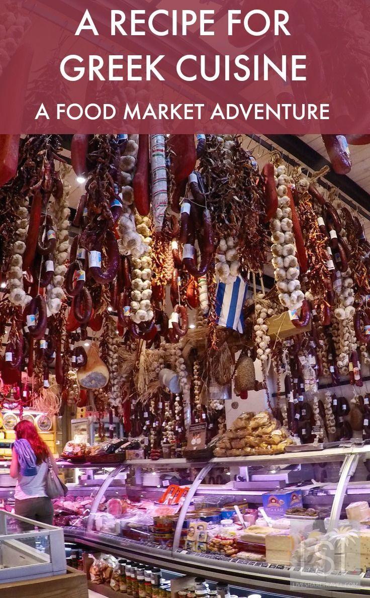 Discovering greek cuisine through traditional greek