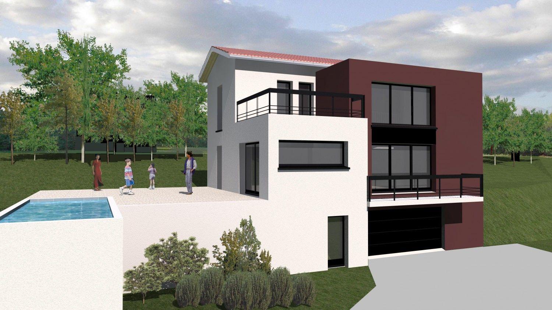 Assez Constructeur de maison contemporaine à Lyon | MCA Maisons | Maison  SE07