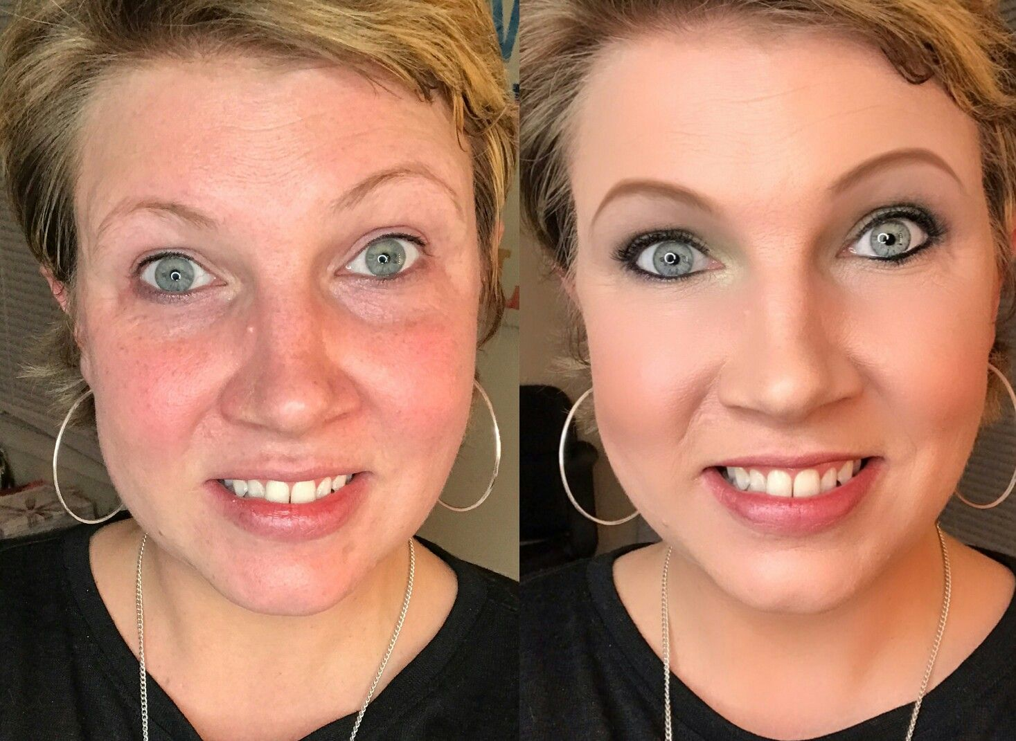 Tonights Live Makeover With Limelight By Alcone Before And