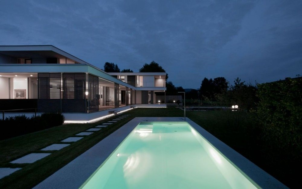 Pool Bauer villa s by two in a box architekten http twoinabox at simon