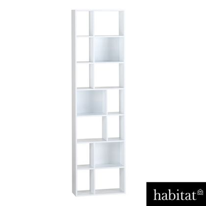 Habitat Cleo White Narrow Bookcase At Homebase Be Inspired And Make Your House A