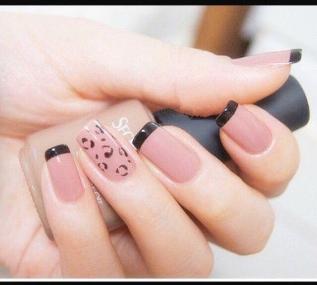 Una hermosa y elegante combinación | Manicura | Pinterest ...