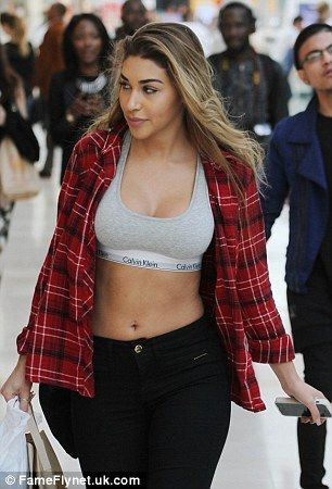 85a0f5de7a44b Justin Bieber s party pal Chantel Jeffries reveals toned tummy ...