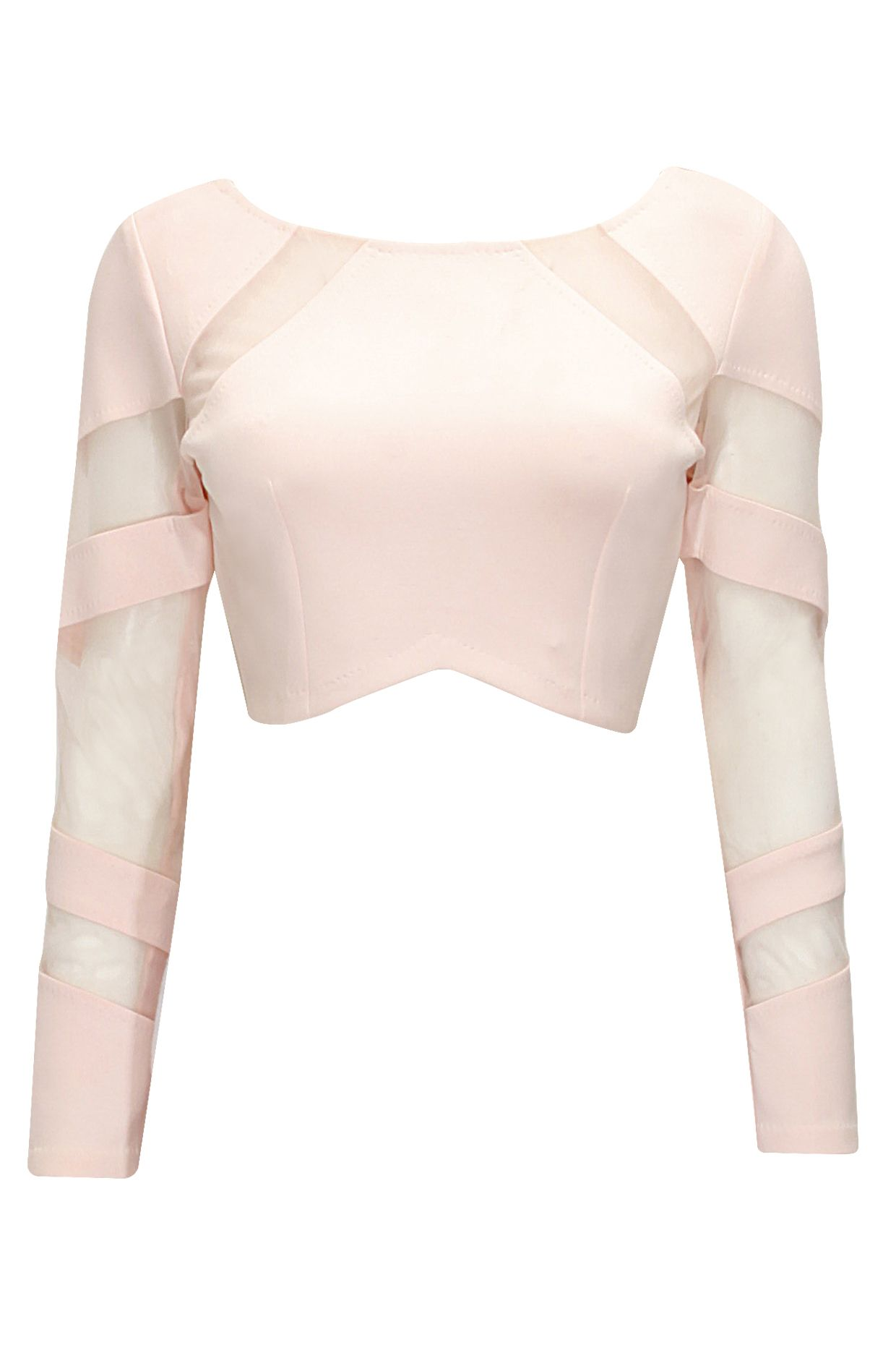 1879d9652 Blush mesh detail crop top available only at pernia pop up shop also rh  pinterest