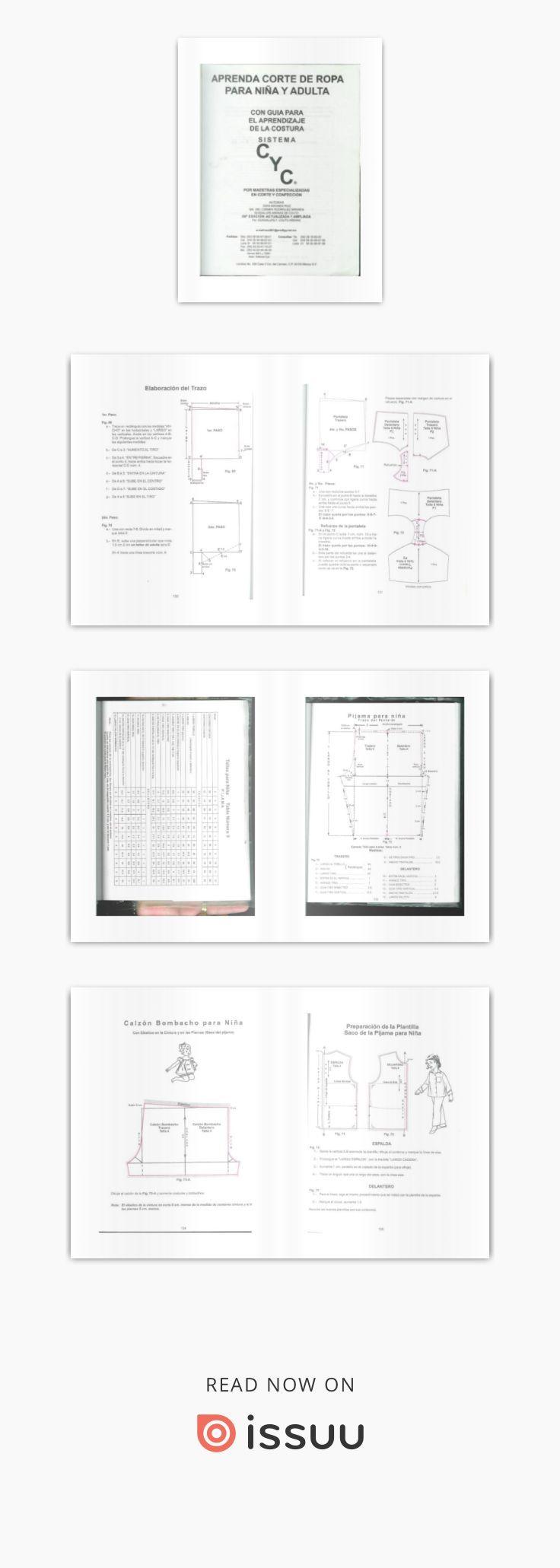 Sistema CyC: Patrones niña y adulta   Libros de costura   Pinterest ...