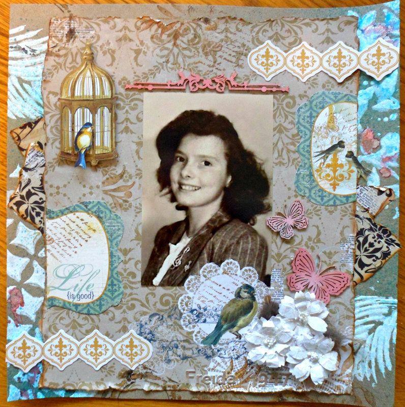 Freida 1947 - Scrapbook.com