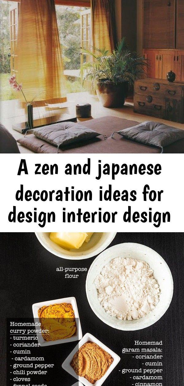 A Zen And Japanese Decoration Ideas For Design Interior Design Japanese Decor Homemade Curry Japanese Home Decor