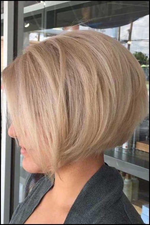 Frisuren Blonde Kurze Haare Ideen Fur Damen Frisuren Kurzhaarfrisuren2018 Frisuren Trendfrisuren Neuefrisuren Schnitte Kurzhaarf Bob Frisur Kurzer Nacken