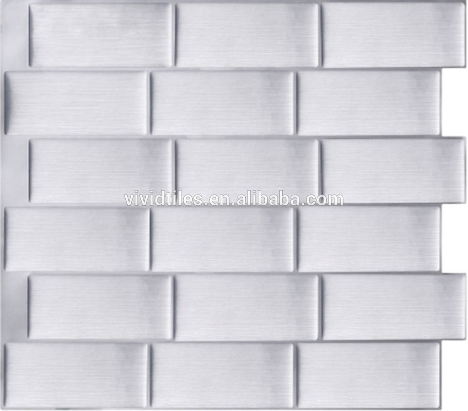 Peel & Stick Wall Covering Decorative Backsplash Tile Stickers ...