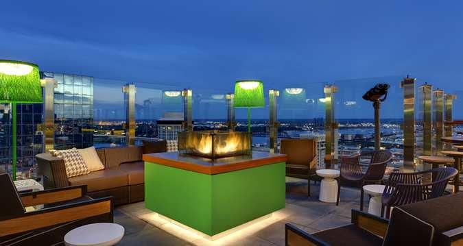 Downtown St Louis Restaurants Three Sixty Rooftop Bar