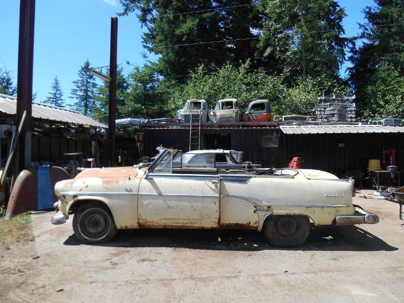 1954 Dodge Royal 500 Convertible Pace Car | Barn Finds,Junk Yard ...