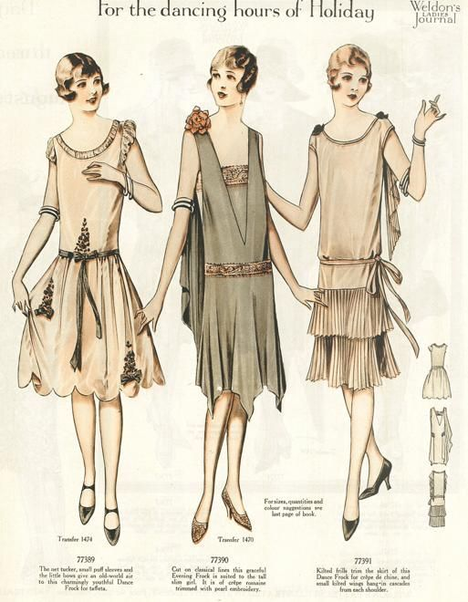 20th Century Fashion History 1920 1930 Folk Fashion Fashion History And Costume Design