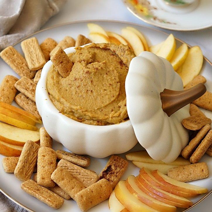 Pumpkin Pie Dessert Hummus #desserthummus