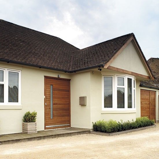 front doors - Bungalow Conversion Ideas