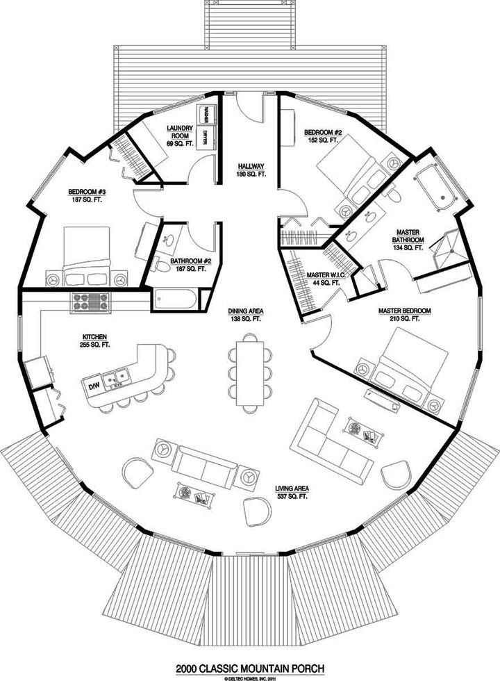 Pin By Michelle Long On I Want It And I Want It Now Home Design Floor Plans Round House Floor Plan Design