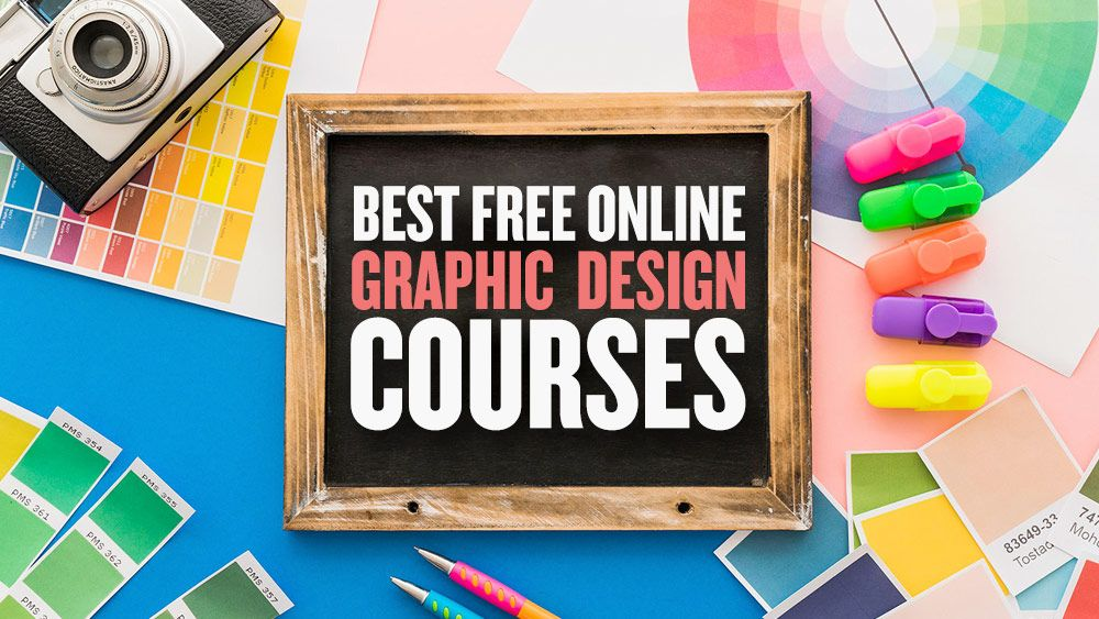 Learn Graphic Design For Free With These Top Free Online Graphic Design Courses And Online Graphic Design Course Graphic Design Course Learning Graphic Design