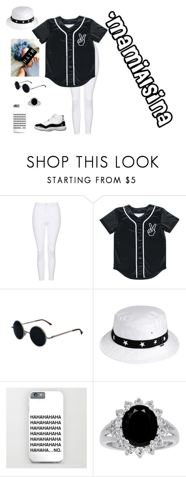 """One minute they  me then they ❤️ me ~ Nicki Minaj"" by mamialsina on Polyvore featuring Topshop and HUF"