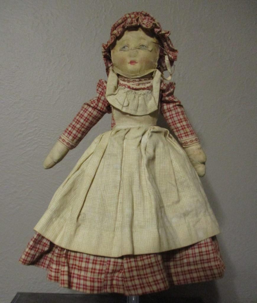 Wonderful Bruckner topsy turvy doll