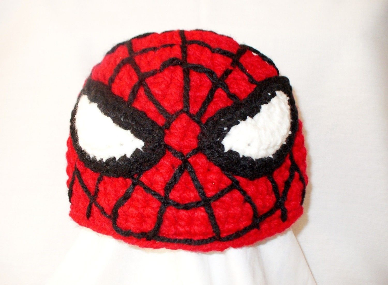 Spiderman crochet hat, Halloween spiderman costume hat, newborn ...