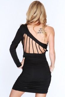Little black party dress from amiclubwear.com
