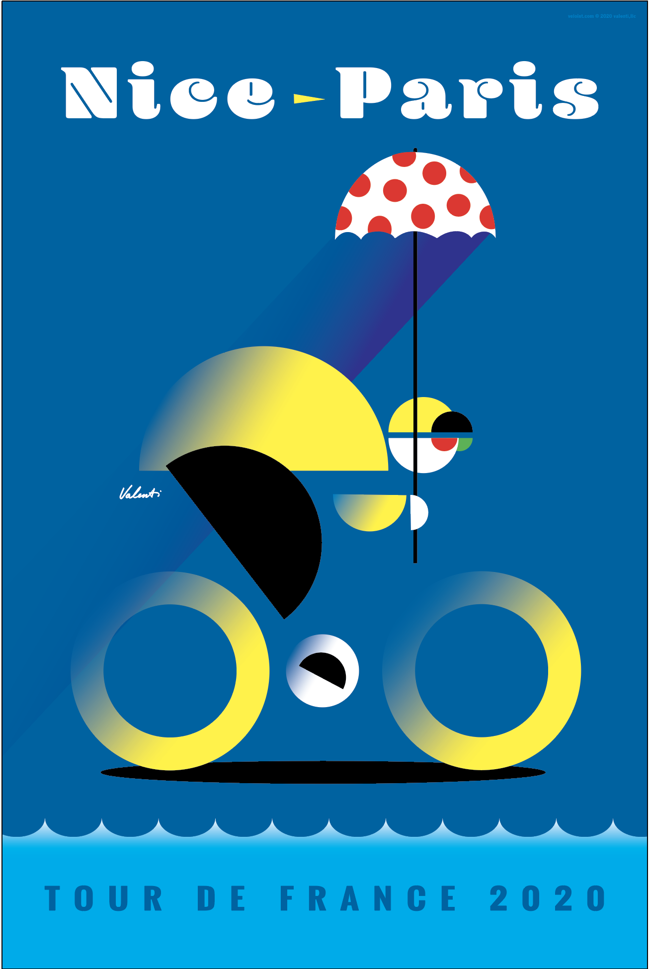Pin by Veloist on Tour de France Art and Posters in 2020