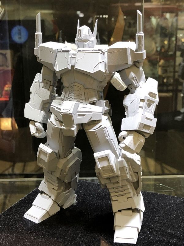Images Of Flame Toys Idw Non Transforming Optimus Prime Prototype