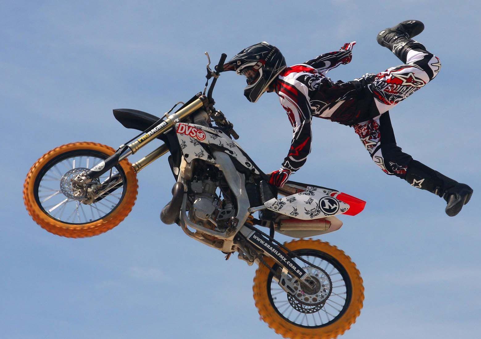 motocross e um esporte