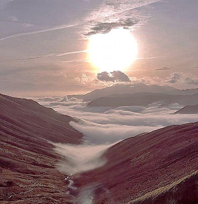 #lakedistrict #thelakes #cloudinversion #walking #instagood #instamood #instalike #grassendale #cumbria