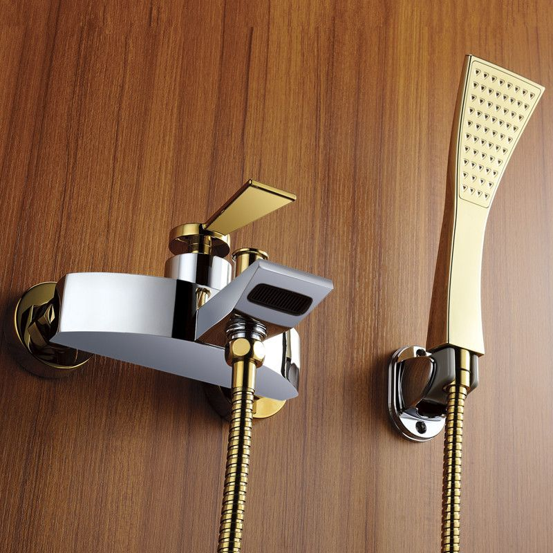 New Arrival Patent Design Luxurious Gold Shower Mixer Faucet Wall ...