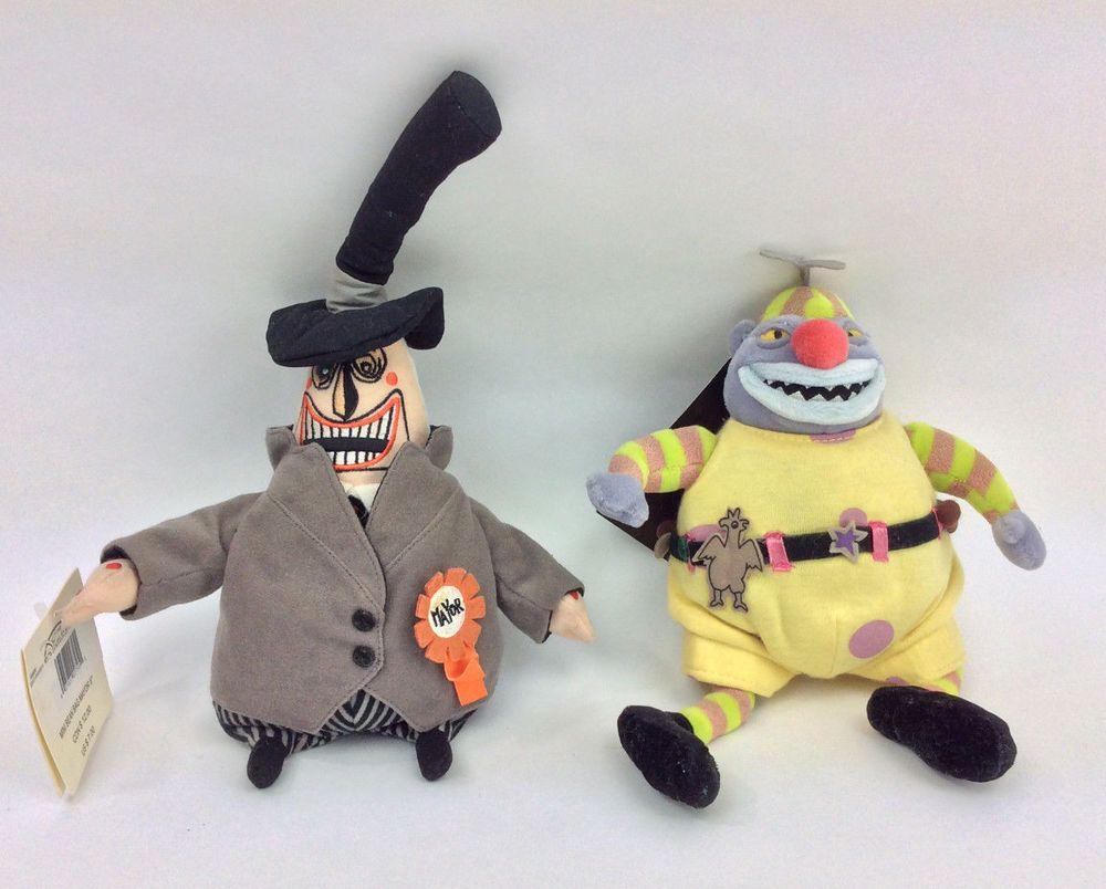 Disney Nightmare Before Christmas Clown & Mayor Plush Stuffed Animal ...