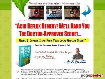 Natural Cure Acid Reflux Heartburn Home Remedy Gerd Treatment Hiatal