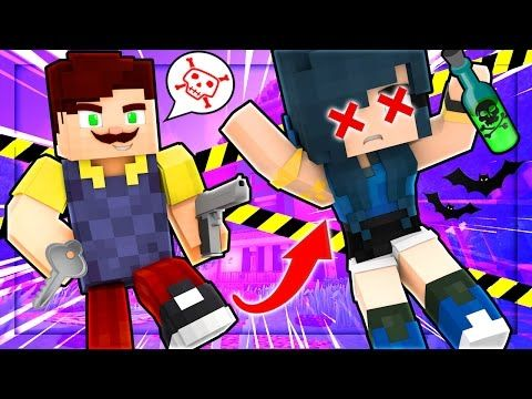 HELLO NEIGHBOR   I GOT KICKED OUT FROM MY HOUSE! (Minecraft Roleplay)