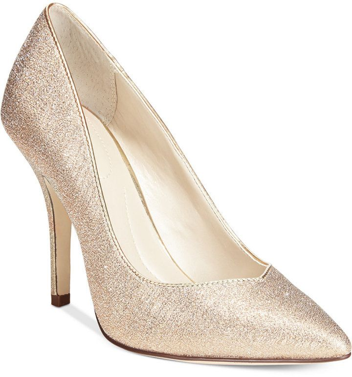 Love this finishing touch. Pyxie Evening Pumps