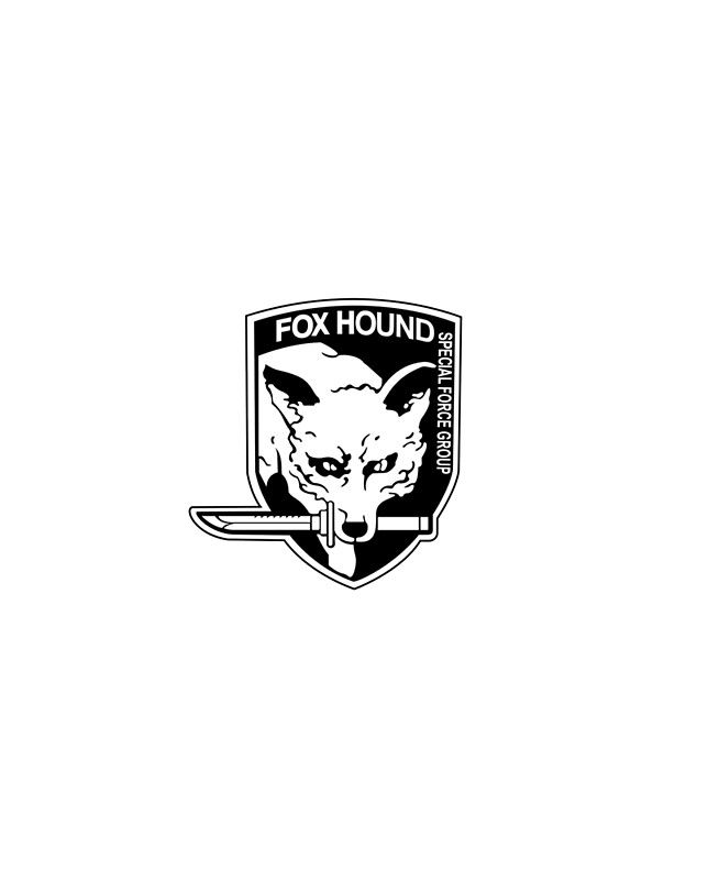 Foxhound Metal Gear Solid Graphic T Shirt By Vludy Metal Gear Solid Metal Gear The Fox And The Hound