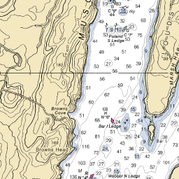 north maine woods map, maine coast map, cliff lake maine map, on maine island trail map