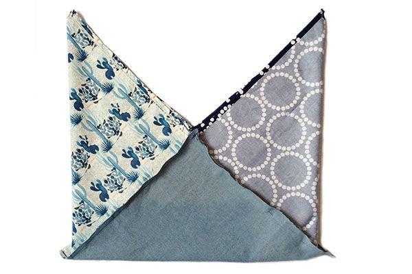 Fast Fat Quarter: how to sew a bento bag