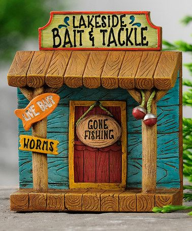 Look at this #zulilyfind! Lakeside Bait & Tackle Shop Mini ...