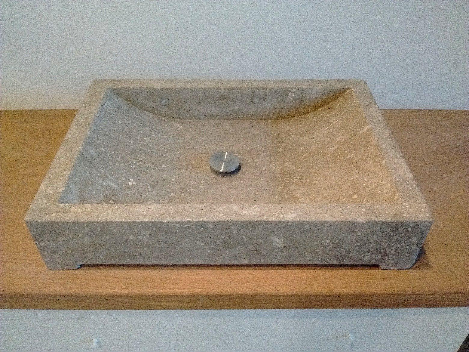 Lavandino bagno in pietra grigia tay mobili da parete mobili