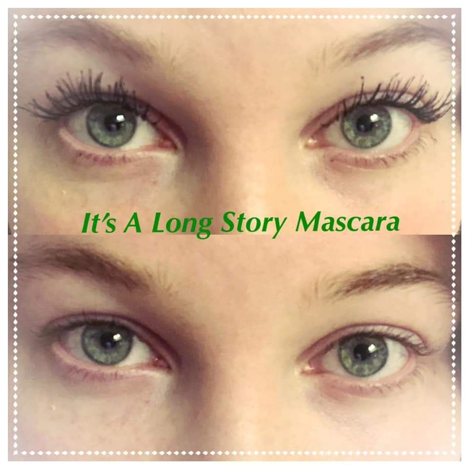 7e65511fd0e Arbonne's It's A Long Story mascara before and after! #arbonne #mascara  #makeup #veganmakeup #vegancertified