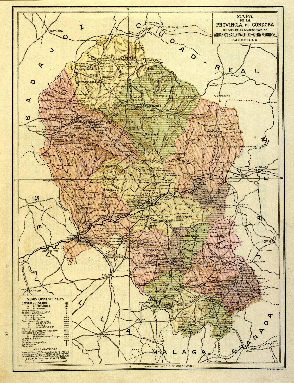 Provincia de Córdoba (1ª mitad S. XX)