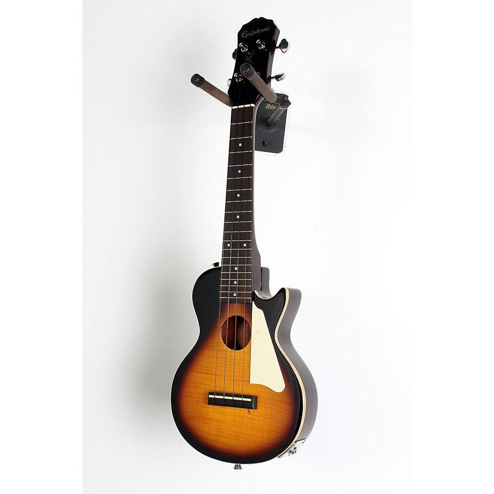 Epiphone Les Paul Acoustic-Electric Concert Ukulele Outfit Vintage Sunburst 190839084217