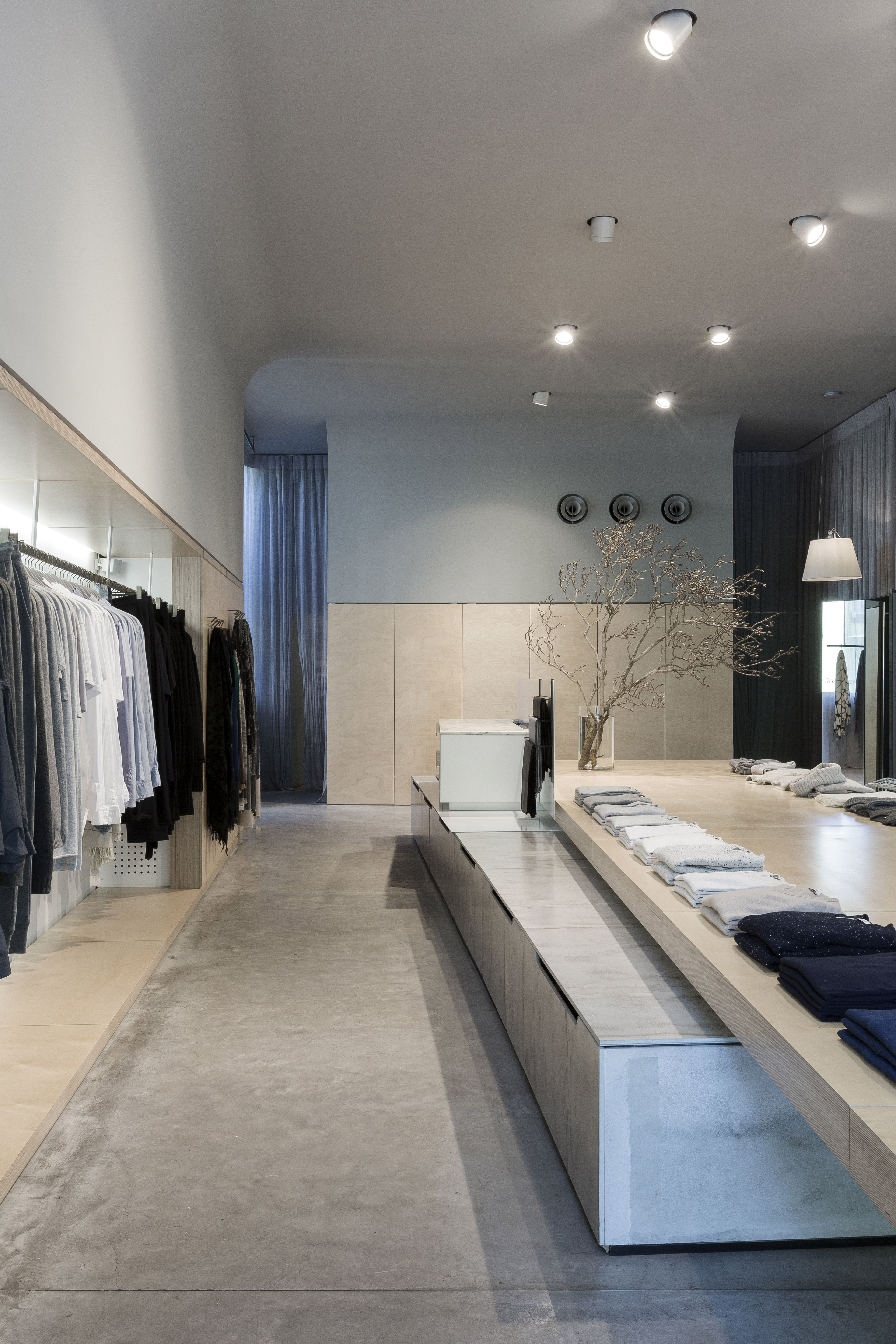 Jac+ Jack, Sydney Intersection store, interior design by George ...