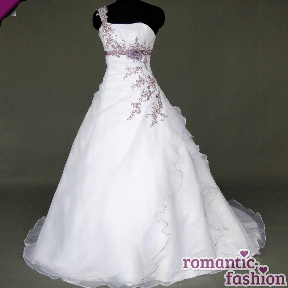 ♥Brautkleid, Hochzeitkleid in Weiß+Gr.34,36,38,40,42,44,46,48,50,52 ...